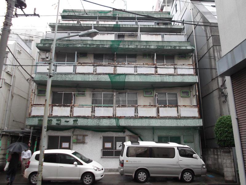 東京都Mコーポ解体工事